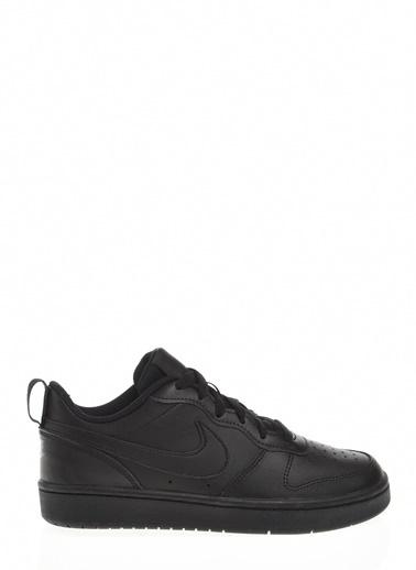Nike Court Borough Low 2 (Gs) Kadın Spor Ayakkabı Siyah